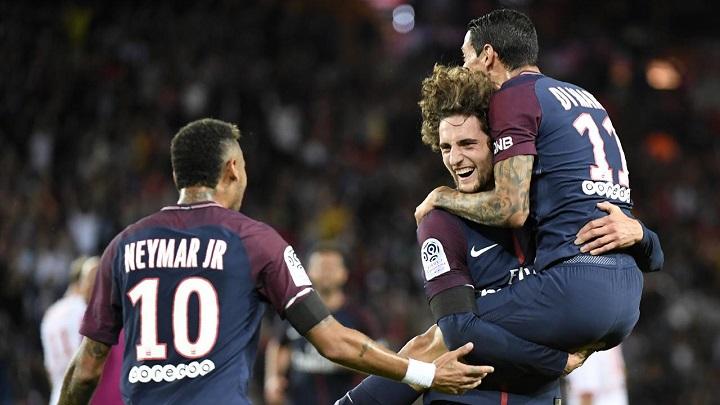 Rabiot-Di-Maria-y-Neymar