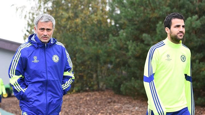 Mourinho-y-Cesc