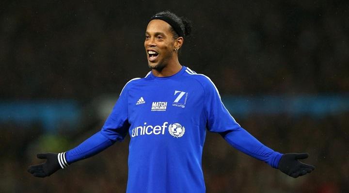 Ronaldinho-UNICEF