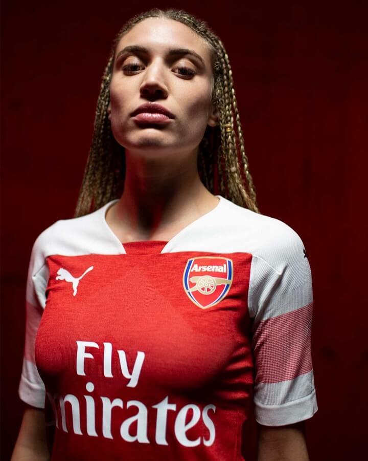 camiseta-Arsenal-2018-2019-mujer