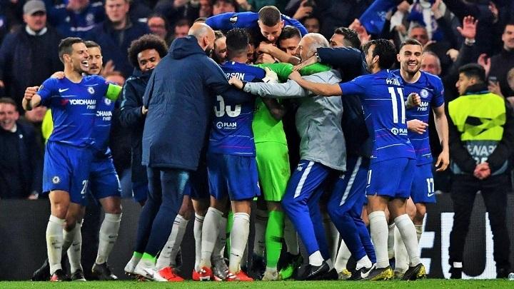 Chelsea-celebración