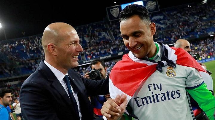 Zidane-y-Keylor-Navas