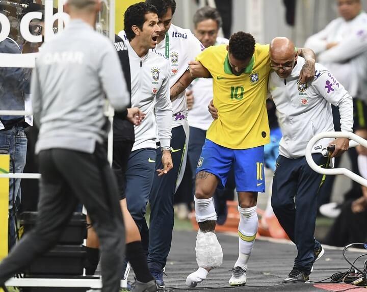 Neymar-con-hielo