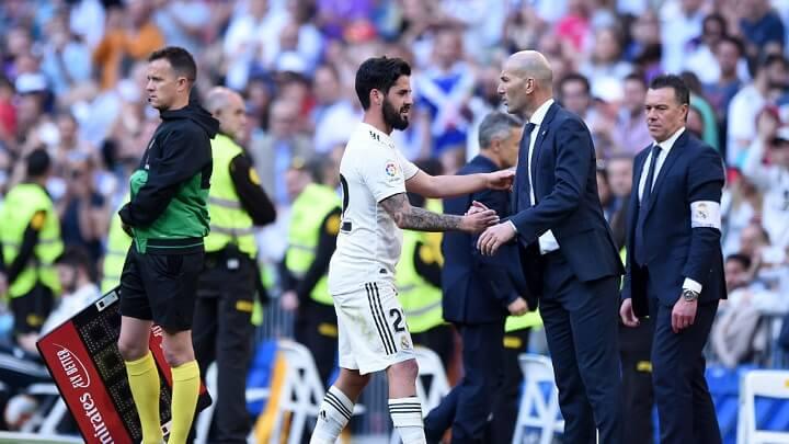 Zidane-e-Isco