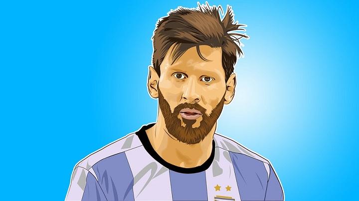 Leionel-Messi-dibujo